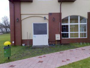 Kampinosport Stare Babice: Fitness Club o pow. 600 m2 ogrzewa i chłodzi GHP13HP współpracująca z wymiennikiem freon-woda AWS YOSHI 10HP.